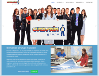 cutspain.com screenshot