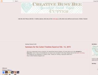 cutter.creativebusybee.com screenshot