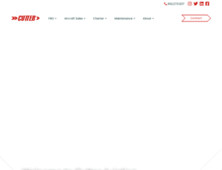 cutteraviation.com screenshot