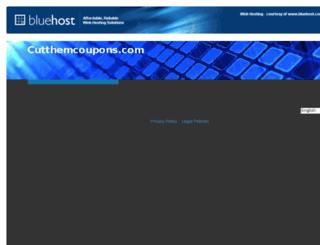 cutthemcoupons.com screenshot