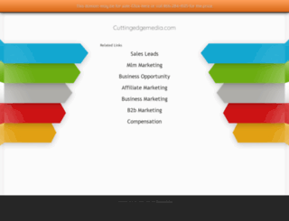 cuttingedgemedia.com screenshot