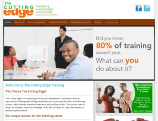 cuttingedgetraining.co.ke screenshot