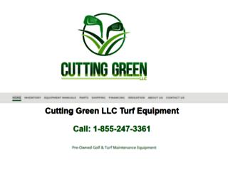cuttinggreenllc.com screenshot