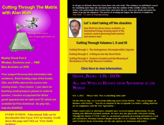 cuttingthroughthematrix.com screenshot
