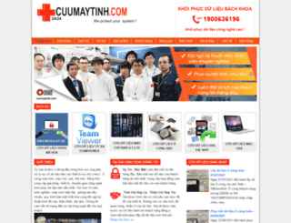 cuumaytinh.com screenshot
