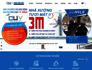 cuv.com.vn screenshot