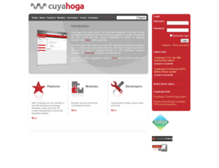 cuyahoga-project.org screenshot