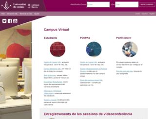 cv.udl.es screenshot