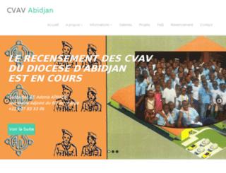 cvav-abidjan.org screenshot