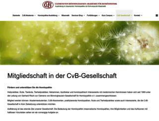 cvb-gesellschaft.de screenshot