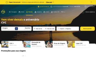 cvc.com.br screenshot