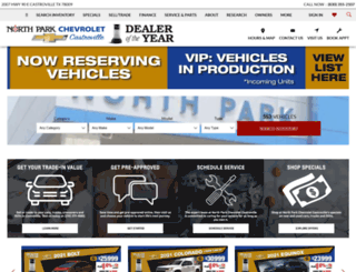 cvchevy.com screenshot