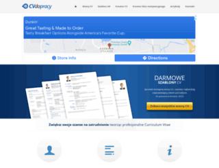 cvdopracy.pl screenshot