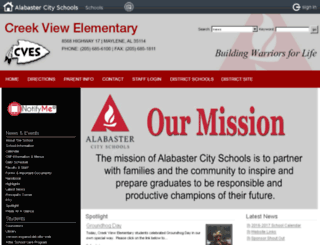 cves.alabasterschools.org screenshot