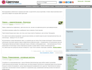 cvetochki.net screenshot