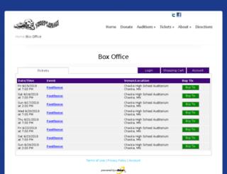 cvft.tix.com screenshot