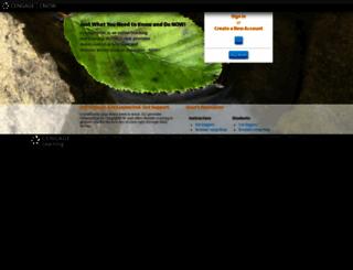 cvg.cengagenow.com screenshot