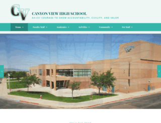 cvhs.ironk12.org screenshot