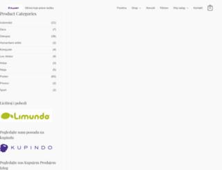 cvijander.com screenshot
