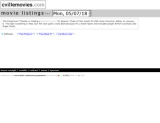 cvillemovies.com screenshot