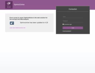 cvip.sphinxonline.net screenshot
