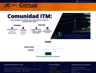 cvirtual.itm.edu.co screenshot