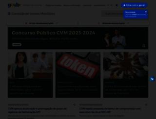 cvm.gov.br screenshot