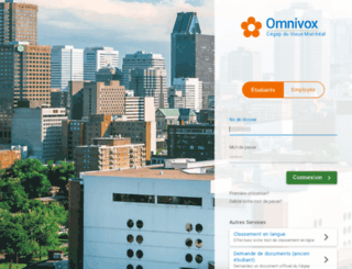 cvm.omnivox.ca screenshot