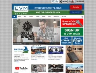 cvm.org.uk screenshot