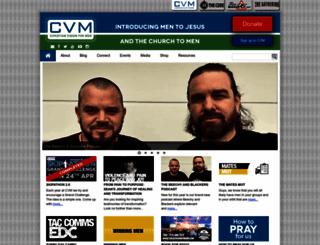cvmen.org.uk screenshot
