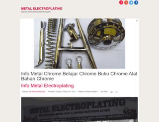 cvmetalchrome.com screenshot
