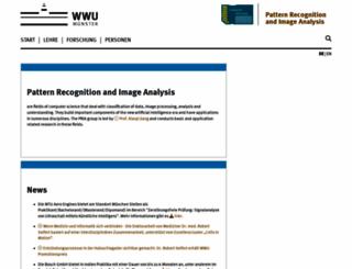 cvpr.uni-muenster.de screenshot