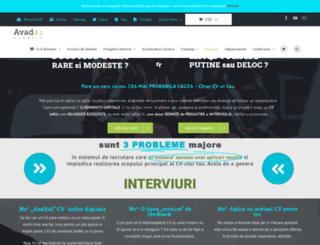 cvpro.ro screenshot