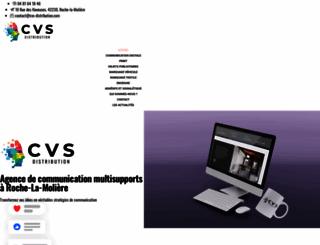 cvs-distribution.com screenshot
