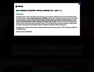 cvschools.org screenshot