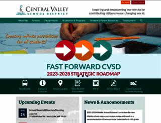 cvsd.org screenshot