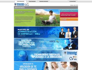 cvudes.edu.co screenshot