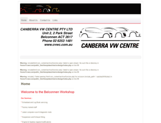 cvwc.com.au screenshot