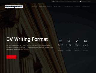 cvwritingformat.com screenshot