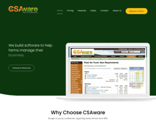 cw.csaware.com screenshot