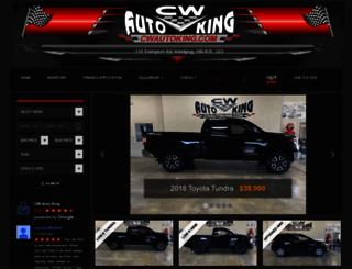 cwautoking.com screenshot