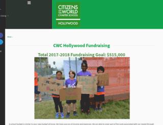 cwchollywood.nationbuilder.com screenshot