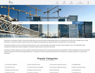 cwctenders.com screenshot
