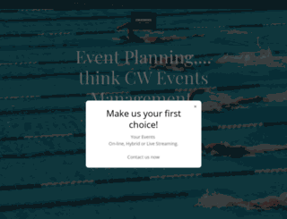 cweventsni.co.uk screenshot