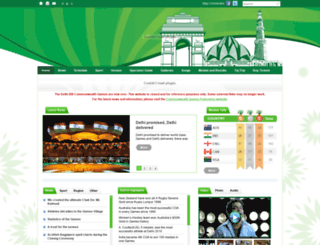 cwgdelhi2010.org screenshot
