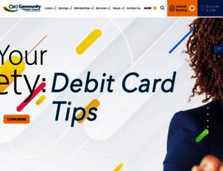 cwjcu.com screenshot