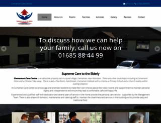 cwmamancare.co.uk screenshot