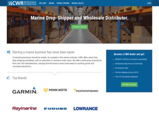 cwrelectronics.com screenshot