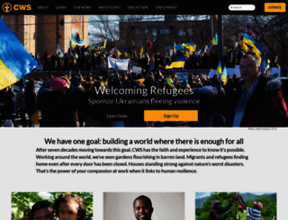 cwsglobal.org screenshot