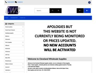 cwsupplies.co.uk screenshot